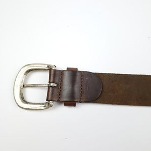 Guess Accessories - Vintage Guess Jeans Brown Leather Belt size L